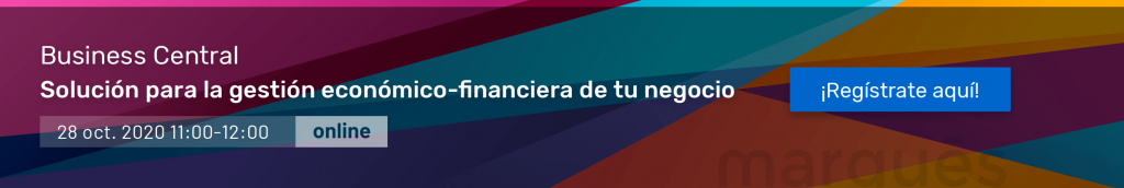 Webinar Business Central Marqués