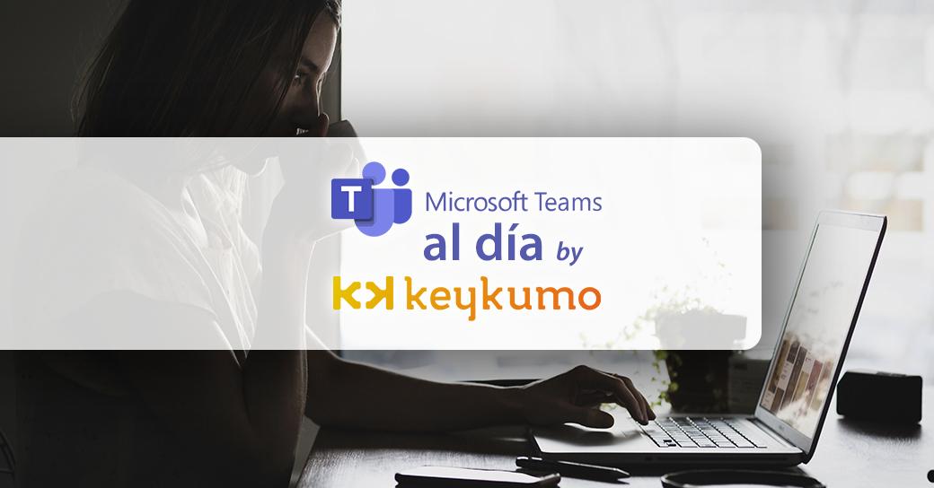 Compartir pantalla en Microsoft Teams