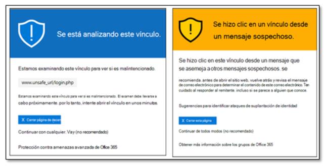 Licencia  Defender para Office 365 Plan 1 - URLs seguras y datos adjuntos seguros