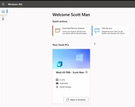 Windows 365 multidispositivo